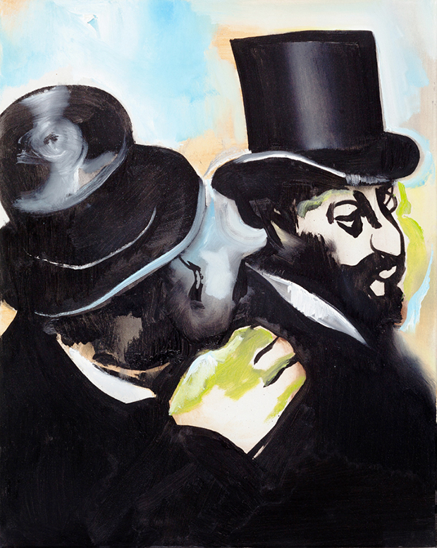 Jews (after Degas) (2014) by Wilhelm Sasnal. Copyright the artist, courtesy Sadie Coles HQ, London