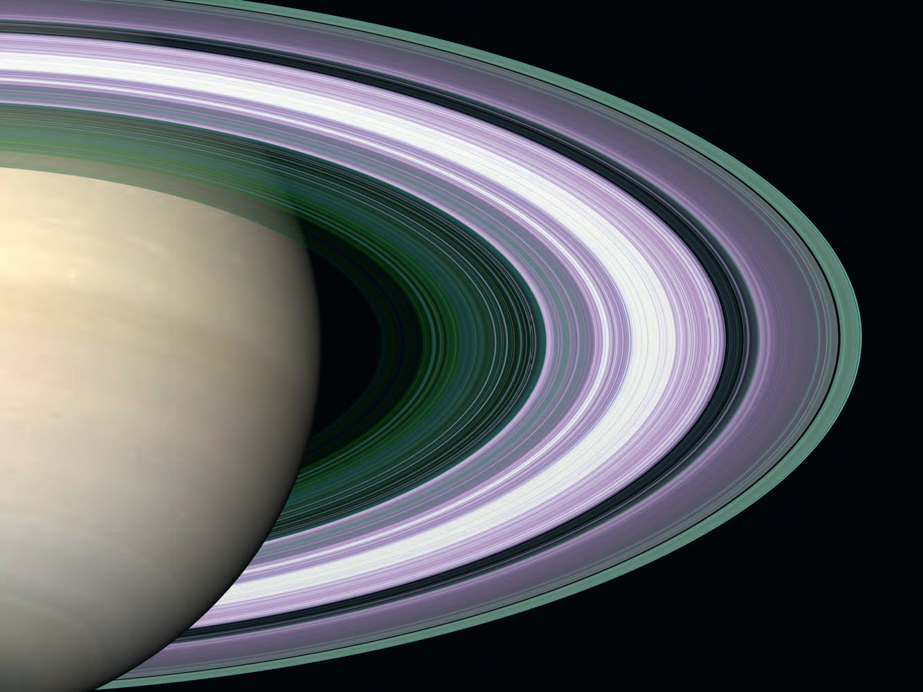 Radio Occultation: Unravelling Saturn's rings 2005, image courtesy of Nasa, JPL