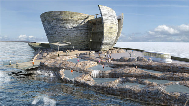 Swansea Offshore Tidal Lagoon Visitors Centre - Juice