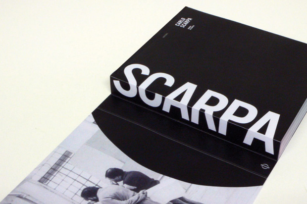 Our new Carlo Scarpa monograph, designed by Béla Stetzer