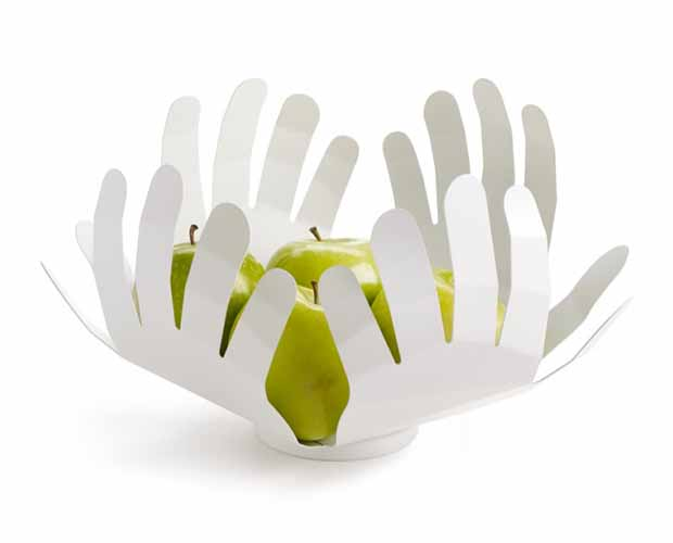 Hands Up bowl by Tobia Scarpa