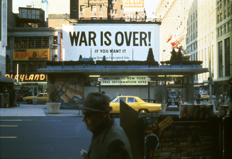 War is Over (1969) by John Lennon and Yoko Ono