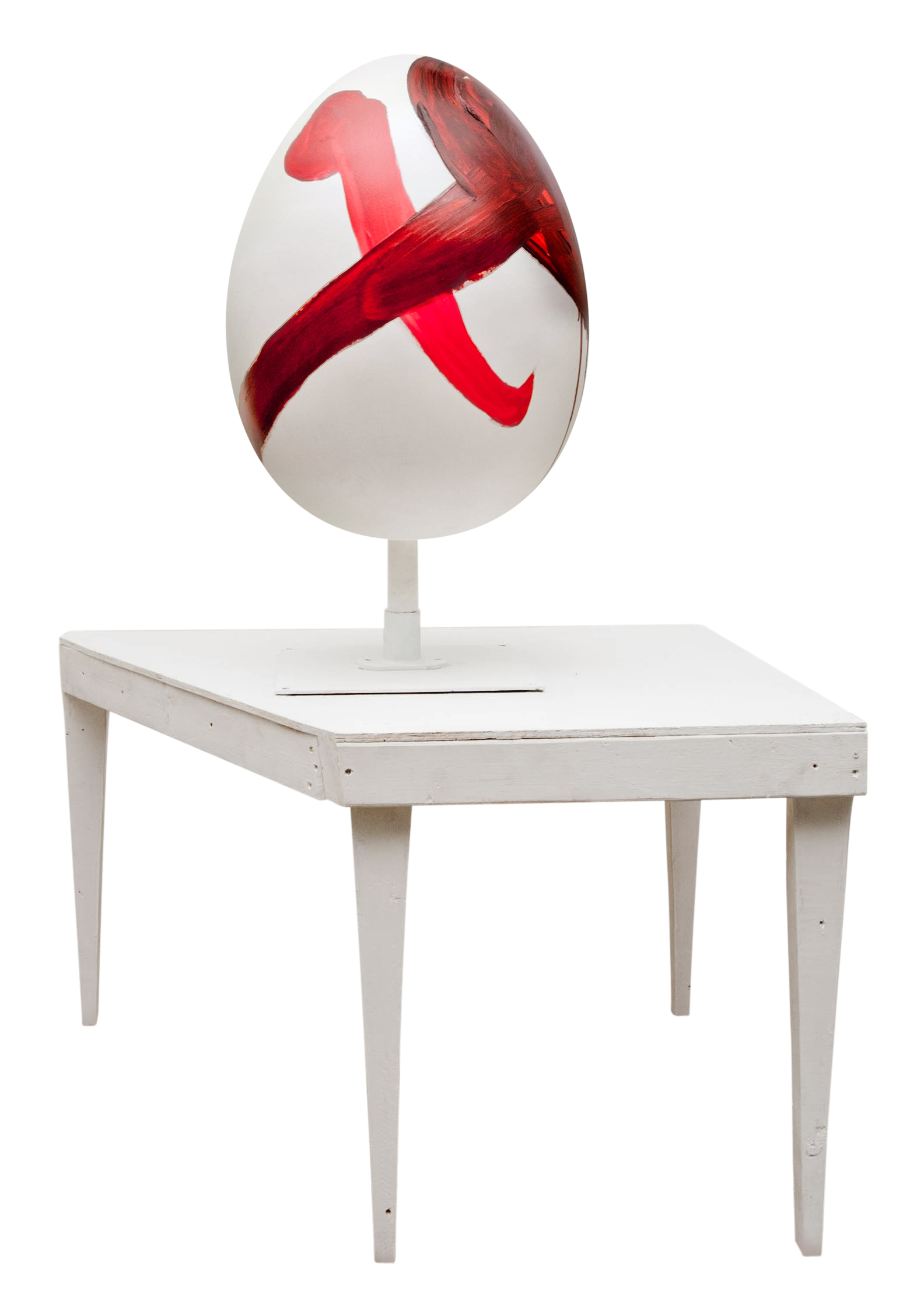 Julian Schnabel's contribution to the Big Egg Hunt