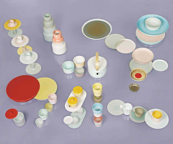 616/Arita Colour Porcelain, 2012 by Scholten & Baijings