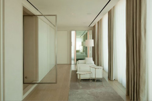 Ian Schrager's own apartment, designed by John Pawson