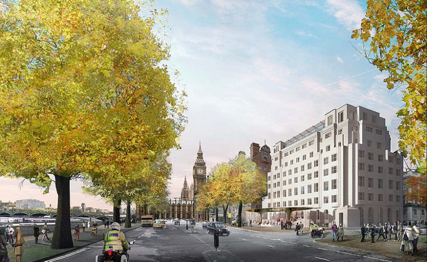 Foster + Partners Scotland Yard submission