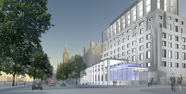 Keith Williams Architects' Scotland Yard submission