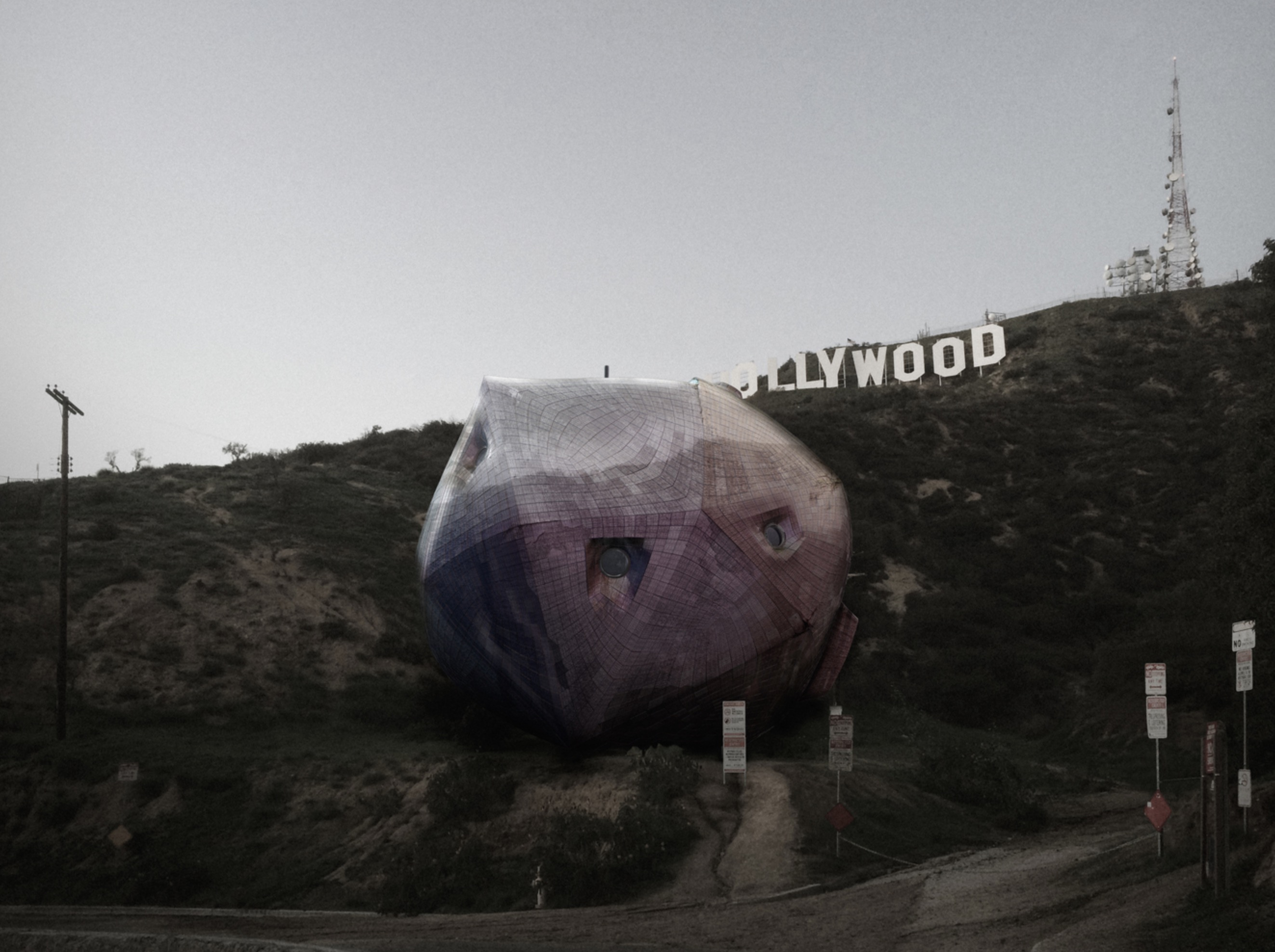 A new home for the Hollywood sign?
