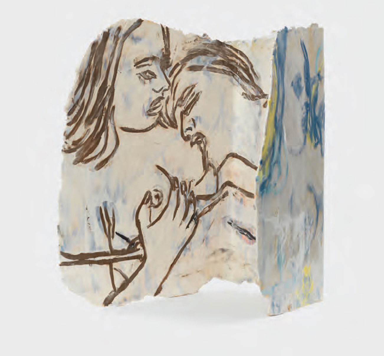 ?Thinking Twice, 2015 Ceramic - Ghada Amer - courtesy the artist and Cheim & Read