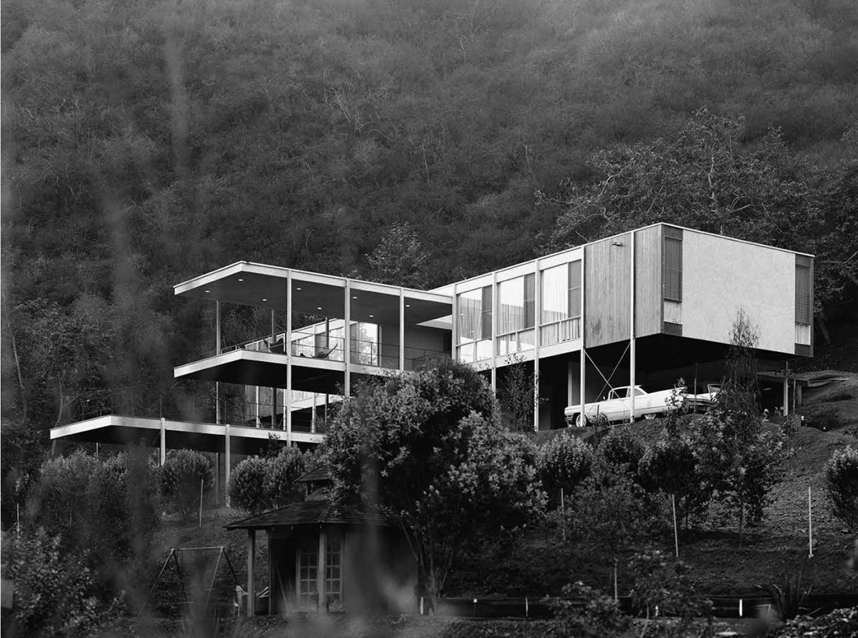 Bernard Zimmerman Zeidler Residence Los Angeles - photographed by Marvin Rand and featured in California Captured