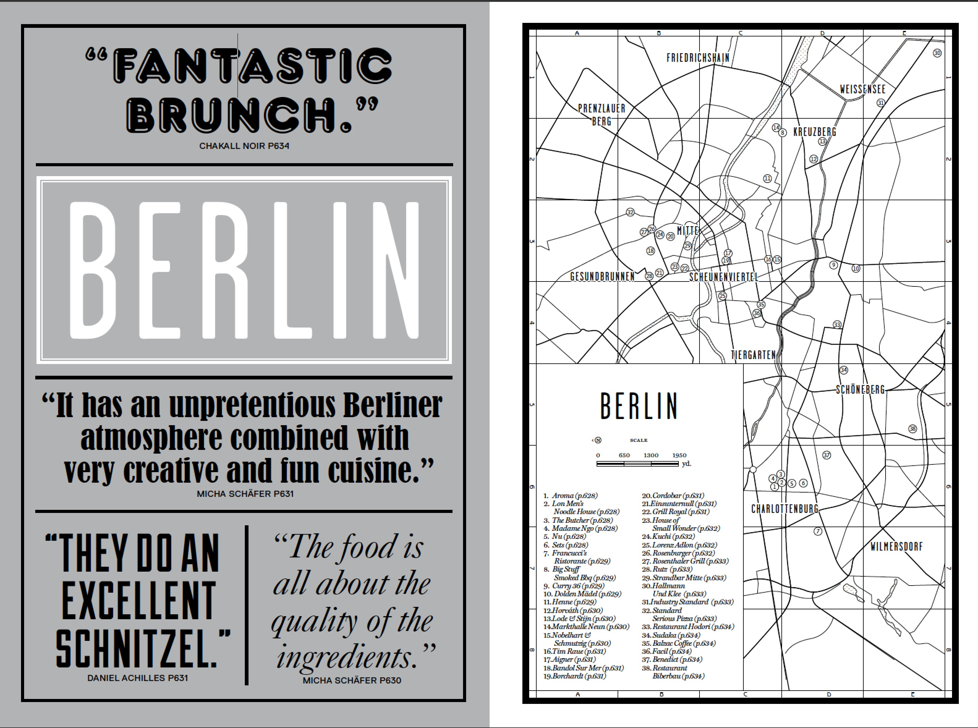 The Berlin introduction from our new book Where Chefs Eat