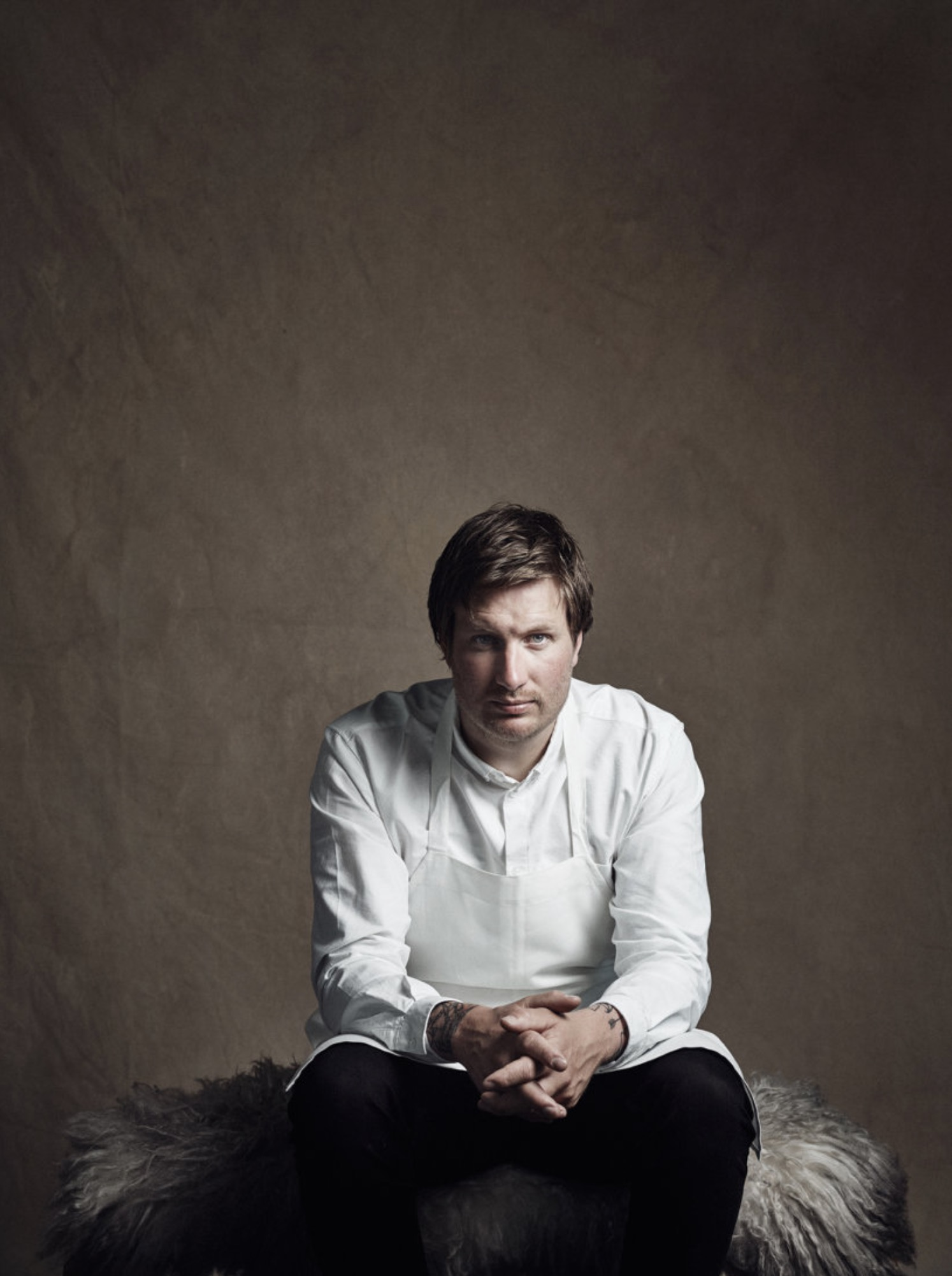 Esben Holmboe Bang - chef and founder of Maaemo