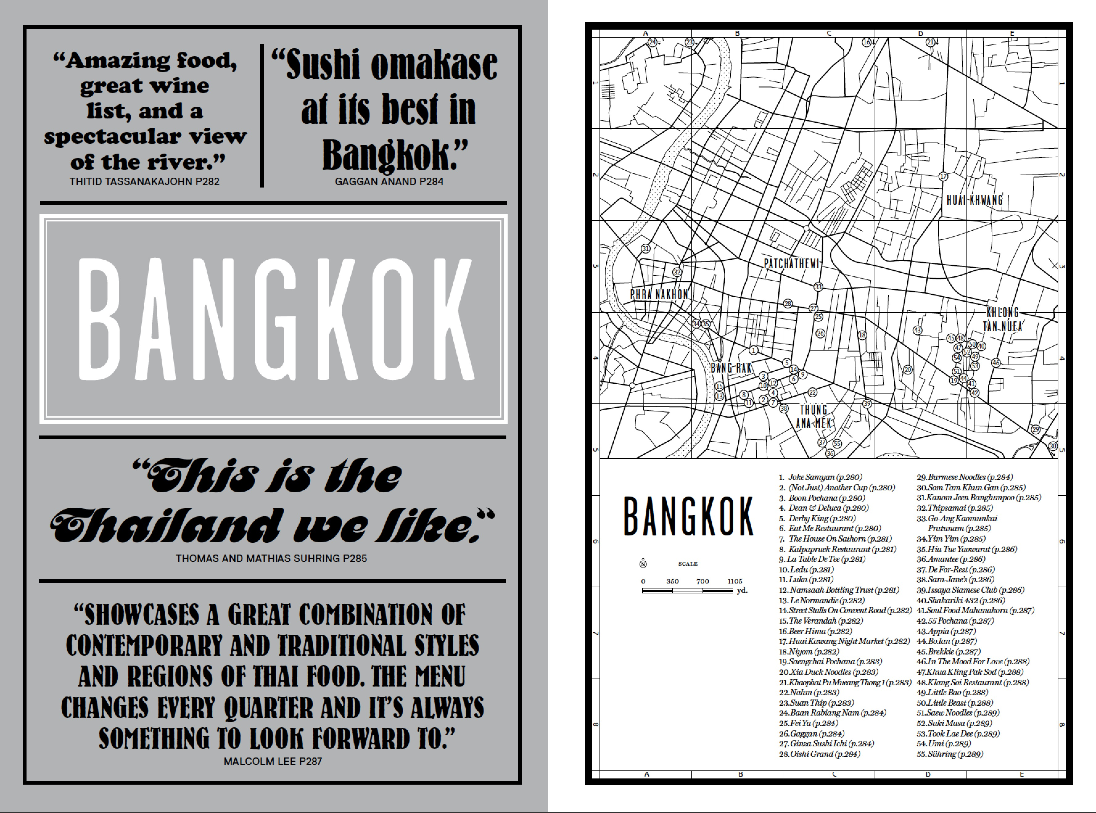 The Bangkok introduction from our new book Where Chefs Eat