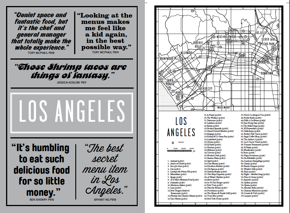 The Los Angeles introduction from our new global restaurant guide Where Chefs Eat