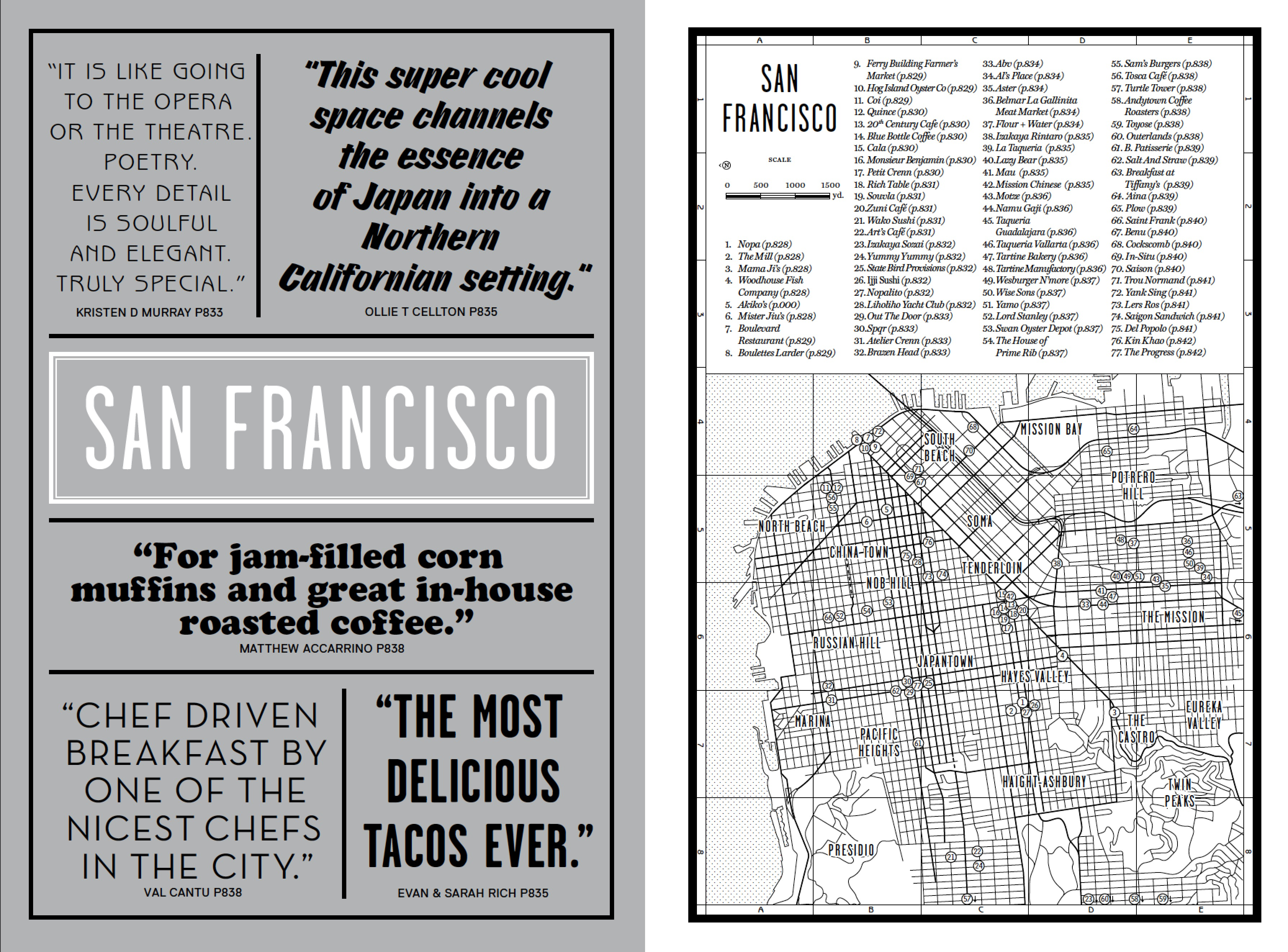 The San Francisco introduction from our new book Where Chefs Eat
