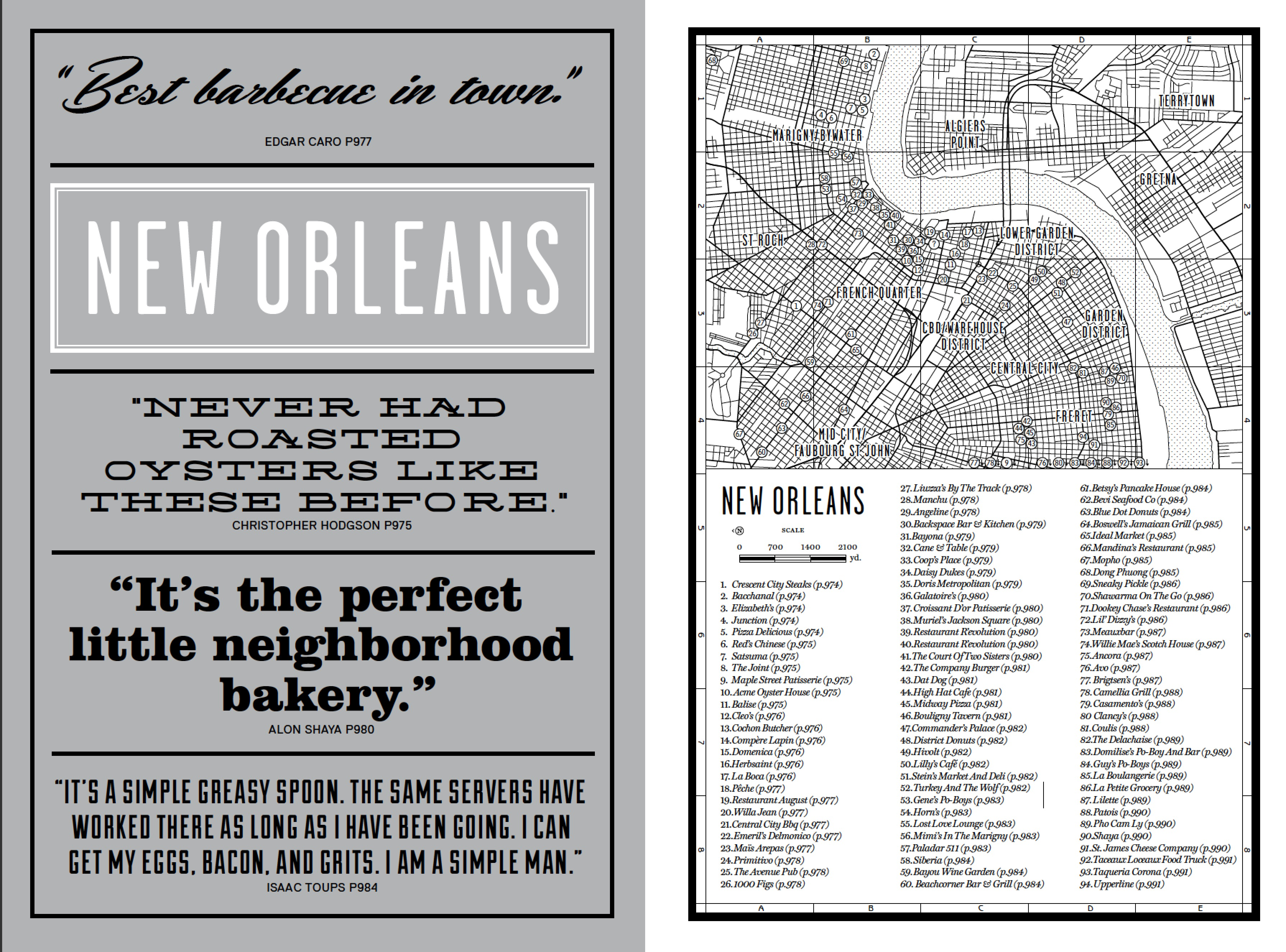 The New Orleans introduction to our new book Where Chefs Eat