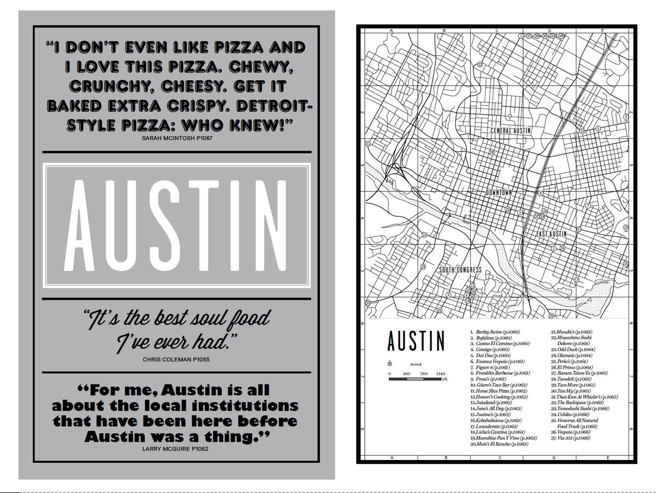 The Austin introduction from our new book, Where Chefs Eat
