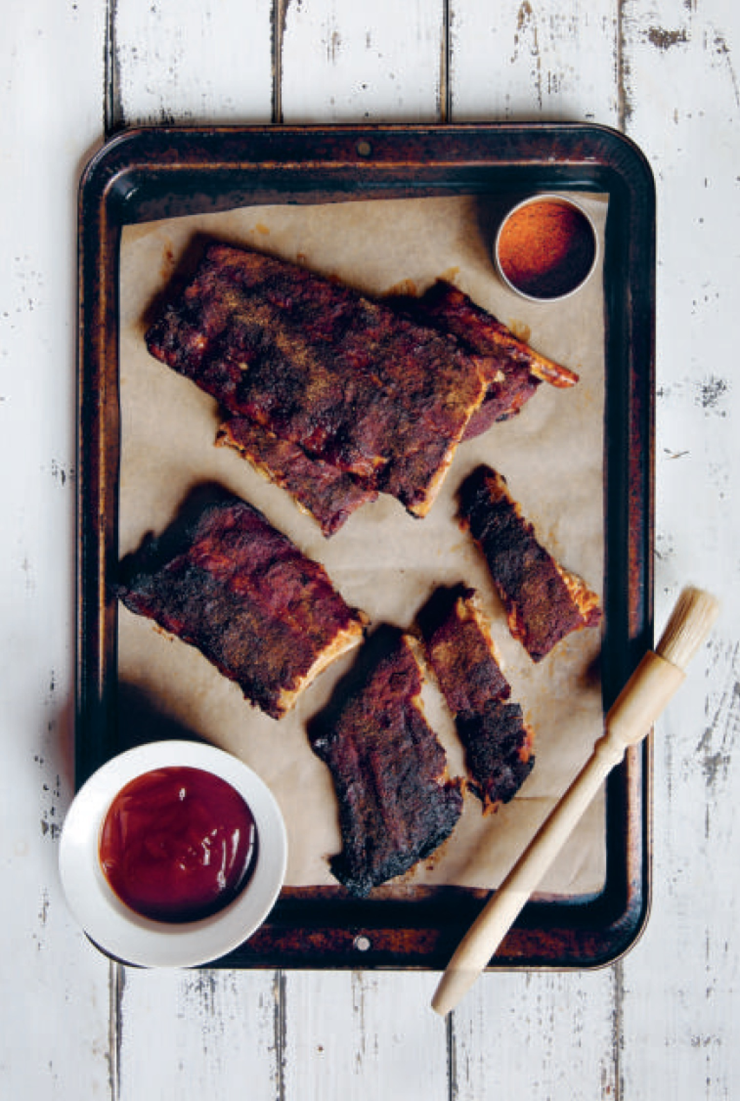 Memphis Style Barbecued Pork Ribs - from America the Cookbook