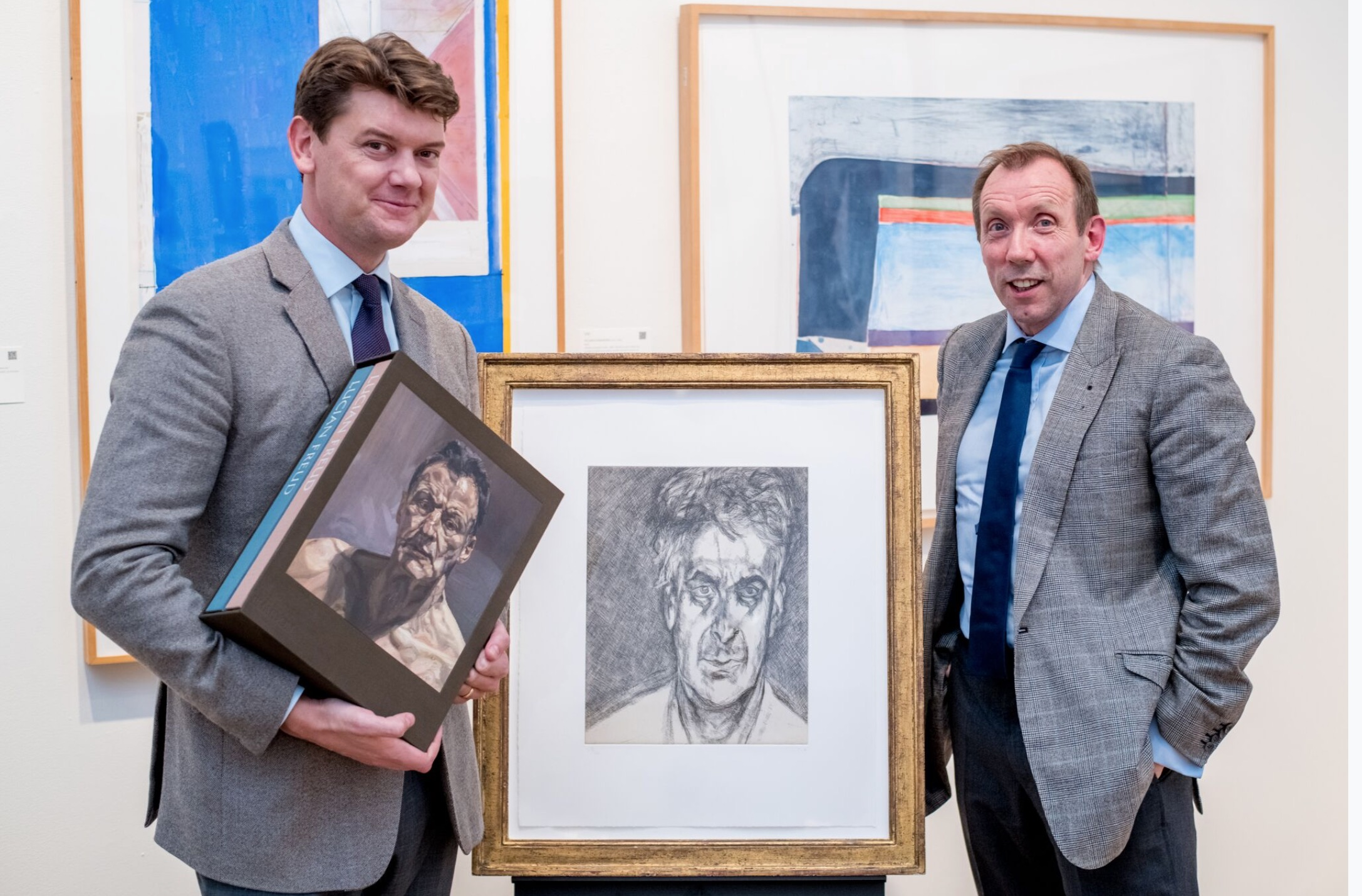 'Exhausting, Exhilarating, Exasperating but Inspiring' - David Dawson at Sotheby's on sitting for Lucian Freud