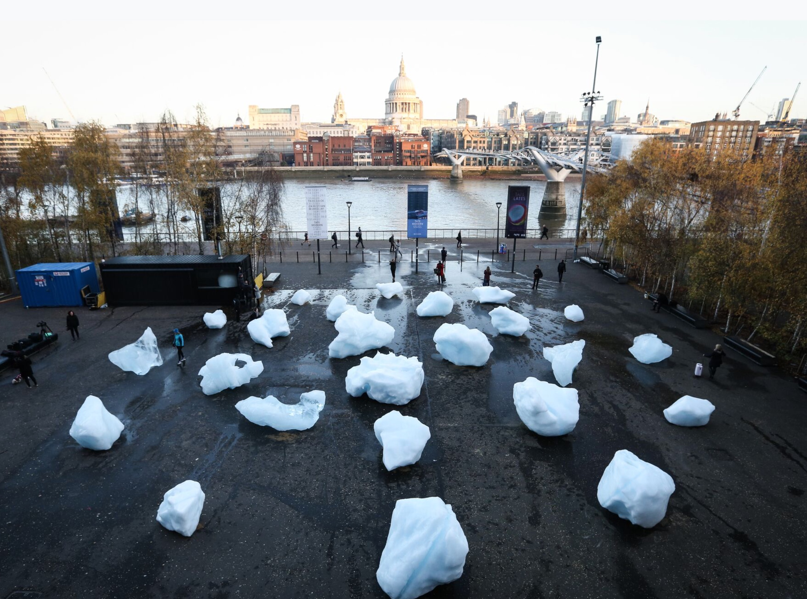 Olafur Eliasson's Ice Watch will give you a climate change chill