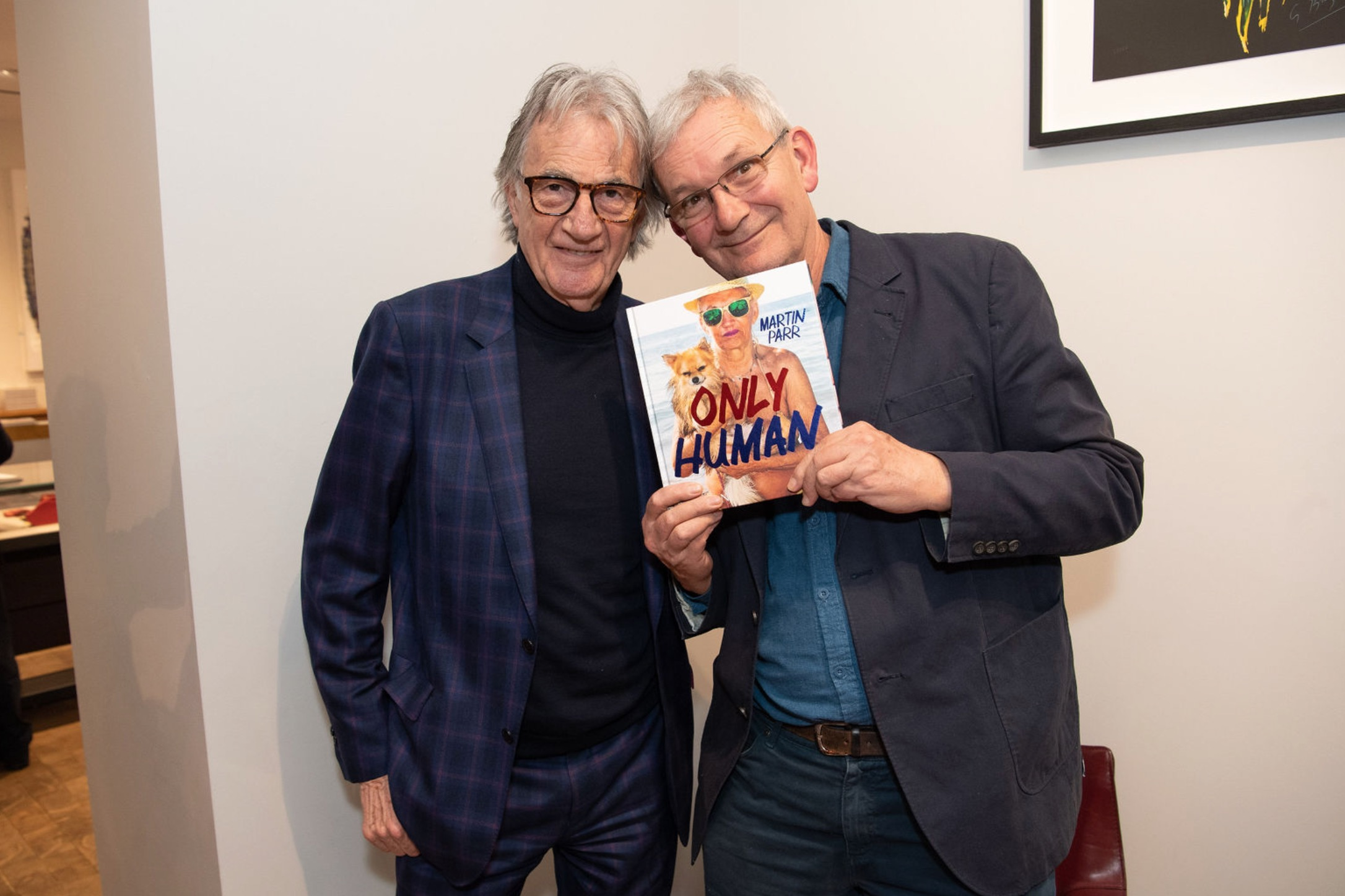 Paul Smith threw a party for Martin Parr this week!