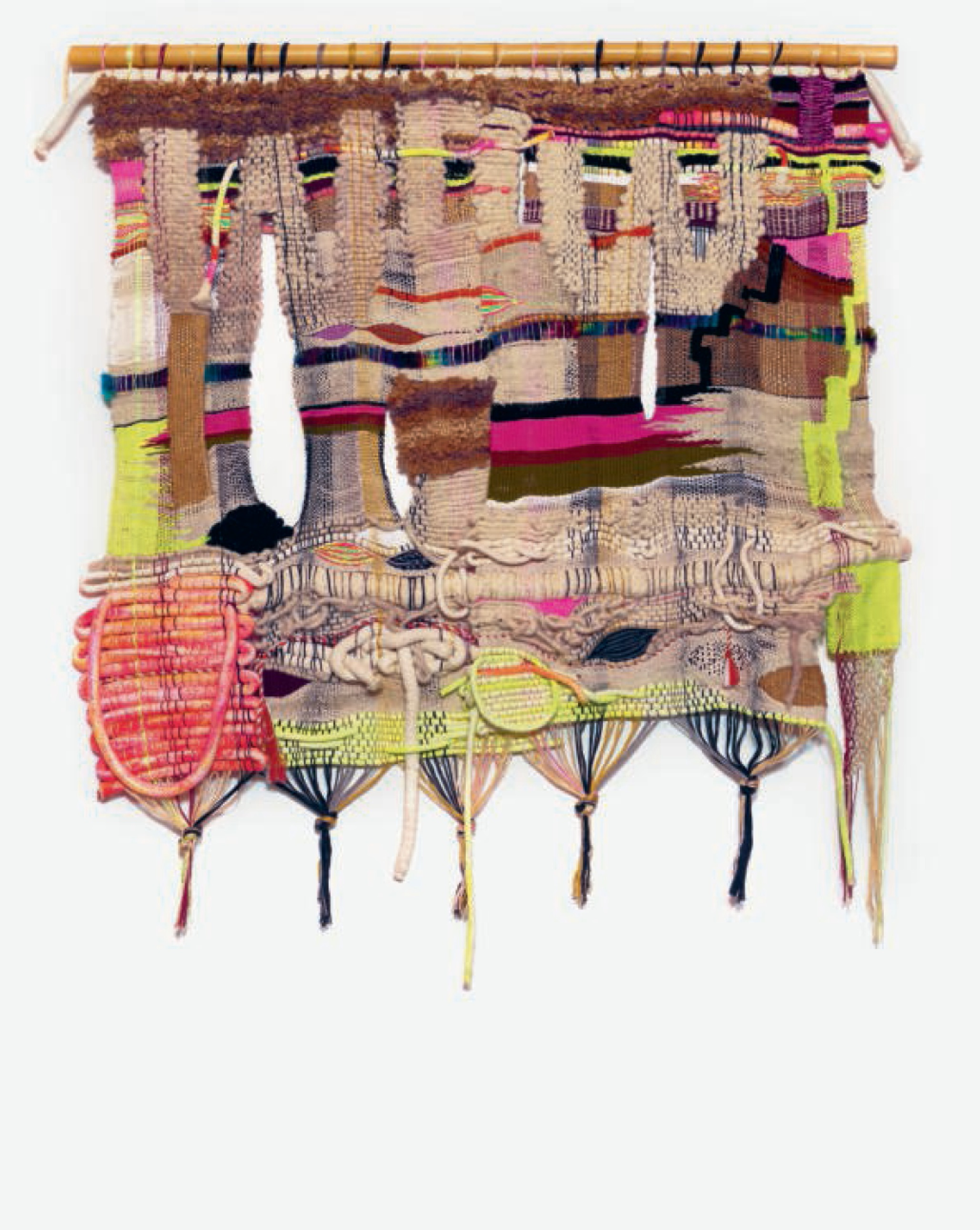 WOW - 2016 - Wool, acrylic and cotton fibres - Terri Friedman