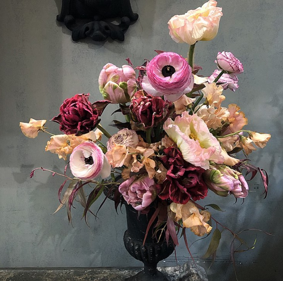 A floral arrangement by Odorantes, Paris