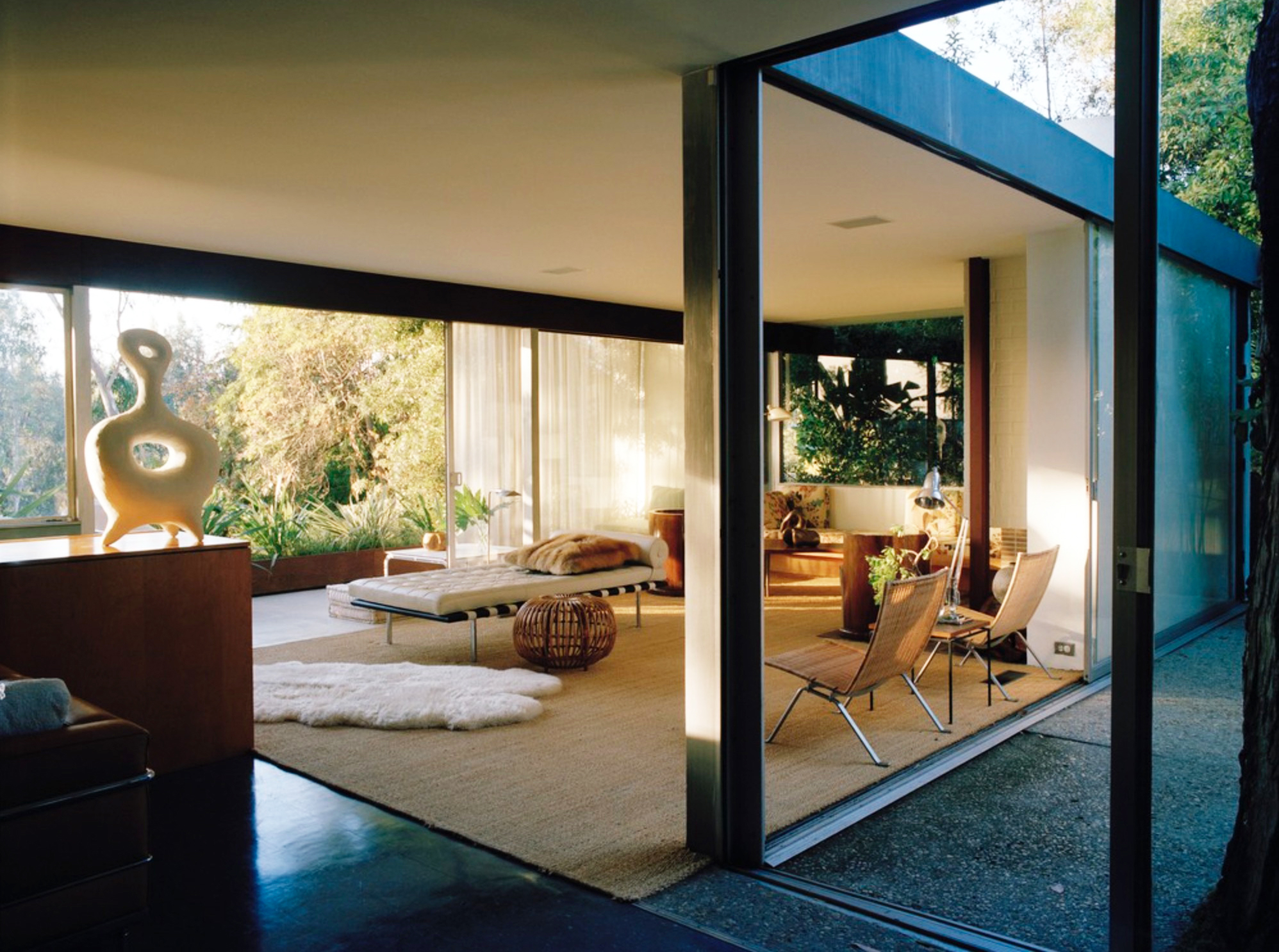 Netto Residence, Silver Lake, Los Angeles. As featured in Interiors: The Greatest Rooms of the Century
