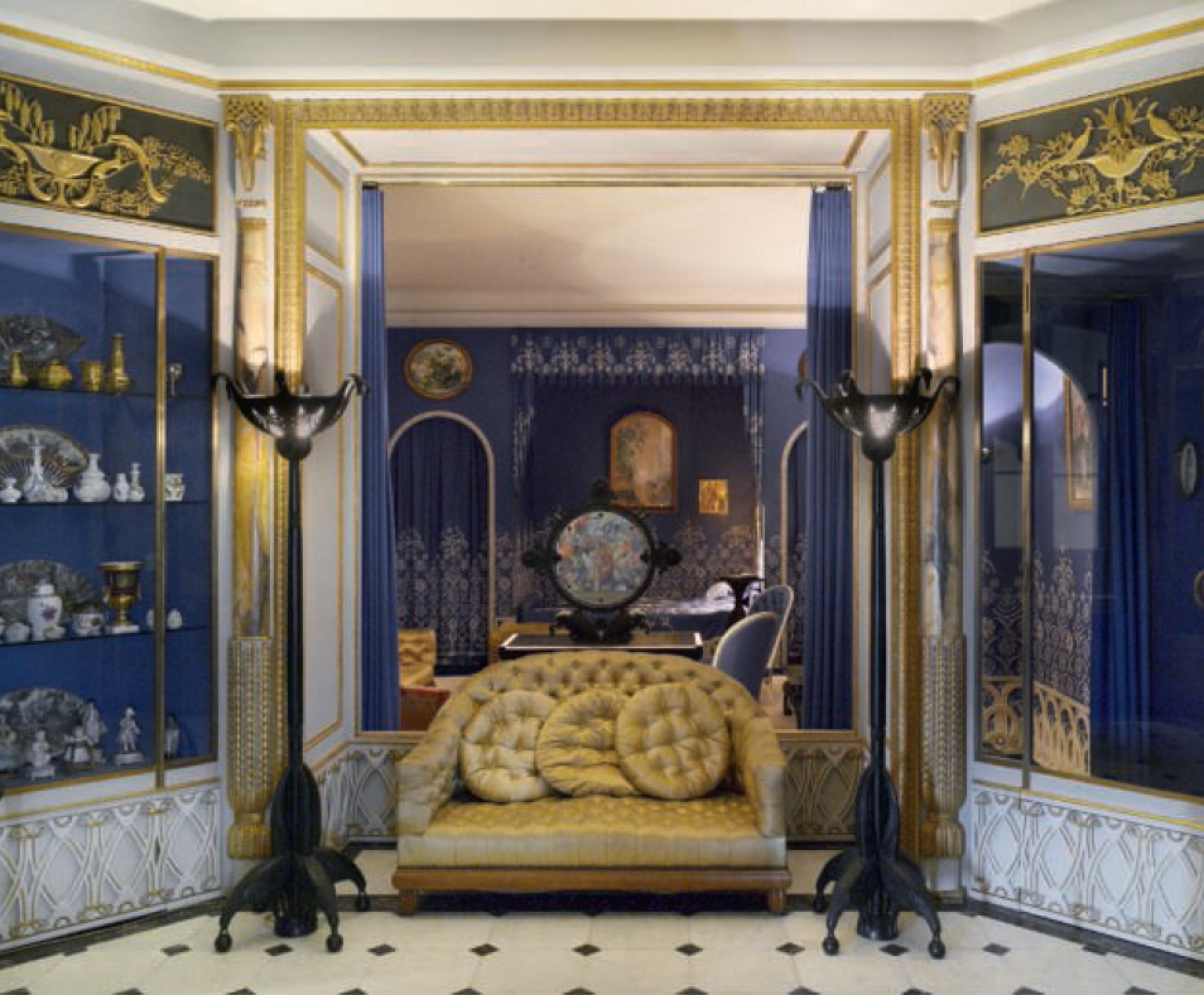 Lanvin Residence, Designed by Armand-Albert Rateau, Paris - as featured in Interiors: the Greatest Rooms of the Century