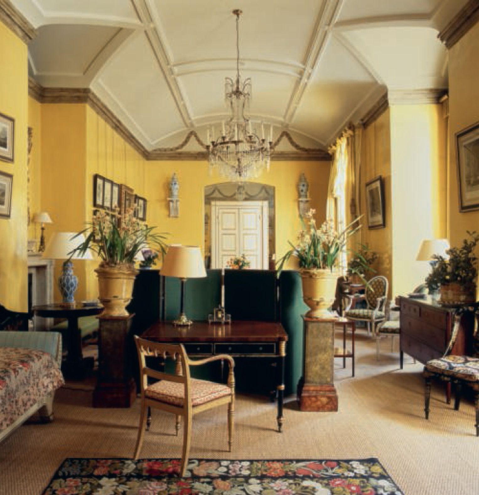 Avery Row Drawing room London, UK  by Nancy Lancaster