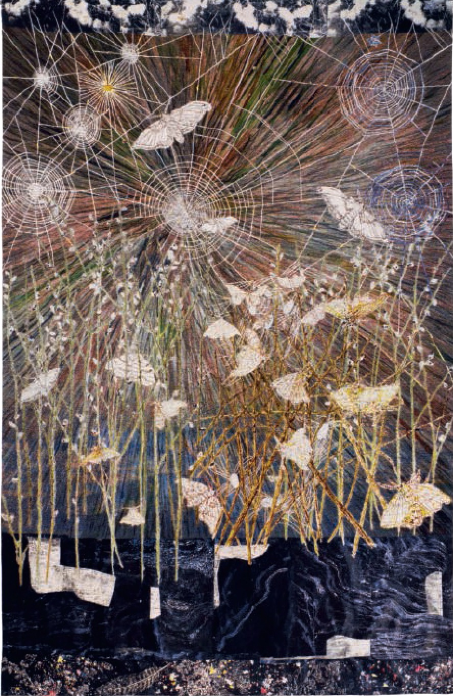 Spinners (Moths and Spiders Webs, 2014 - Kiki Smith
