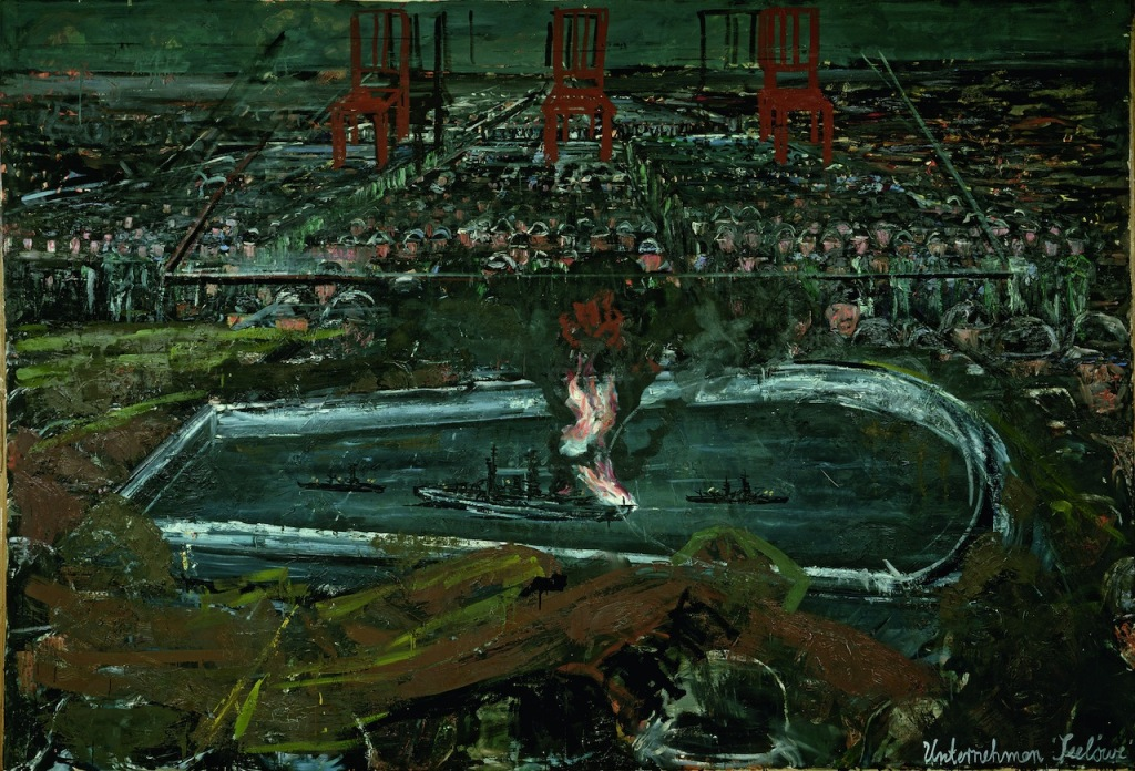 Operation Sea Lion by Anselm Kiefer