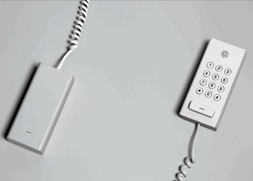 Second Phone, 2002 for Muji by Industrial Facility