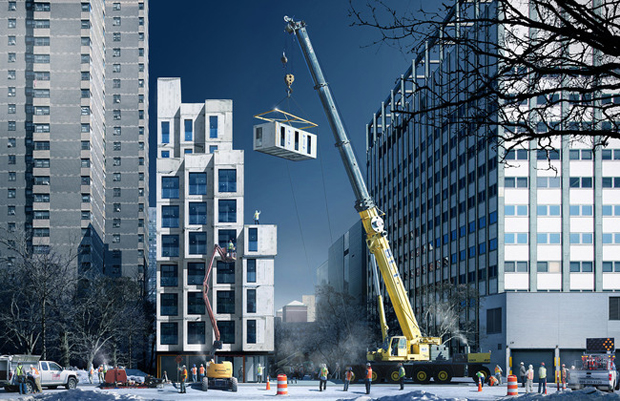 nArchitect's winning AdAPT NYC entry
