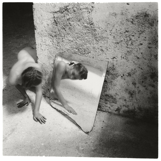 Self-deceit, No 1, Rome, Italy, 1978 by Francesca Woodman. Copyright George and Betty Woodman. From On Being an Ange