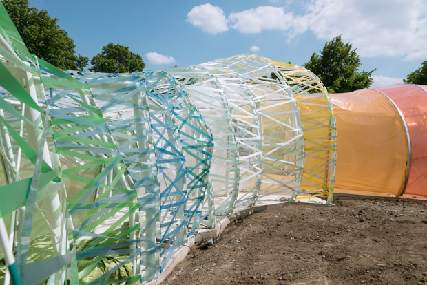 Serpentine Pavilion 2015 - SelgasCano photograph courtesy NAARO