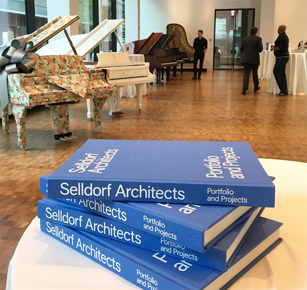 Our new Selldorf monograph at Steinway Hall