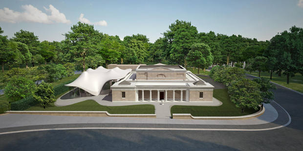 The Serpentine Sackler gallery by Zaha Hadid