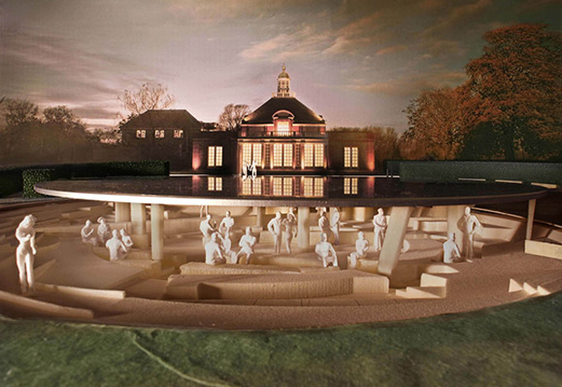 Ai Weiwei and Herzog & de Meuron's plans for the Serpentine gallery summer pavilion