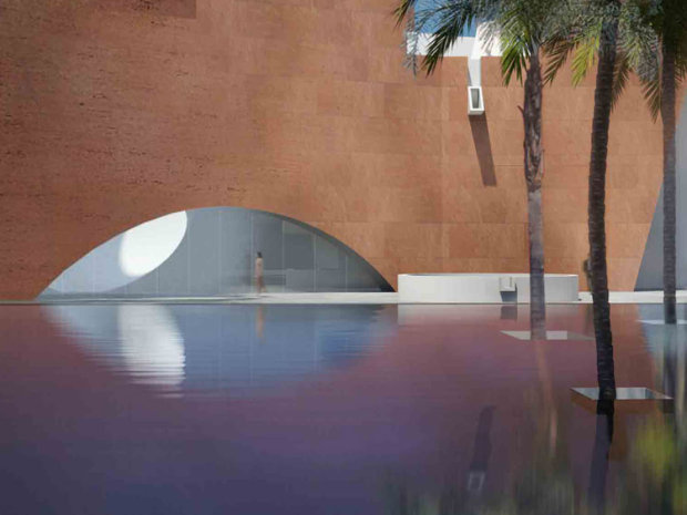 Mumbai City Museum North Wing by Steven Holl Architects. Image courtesy of Stevenholl.com