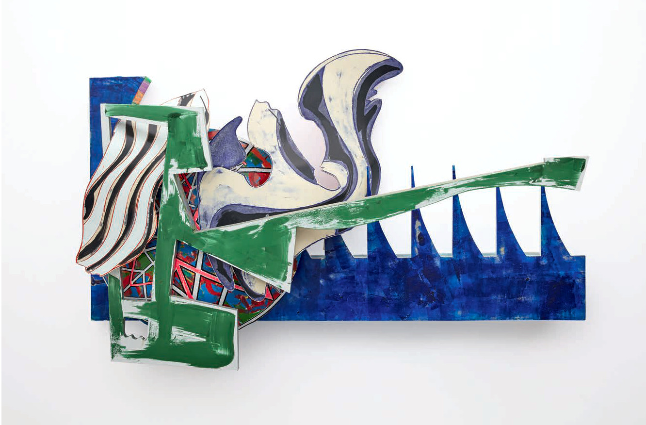 The Shark Massacre (1988) by Frank Stella