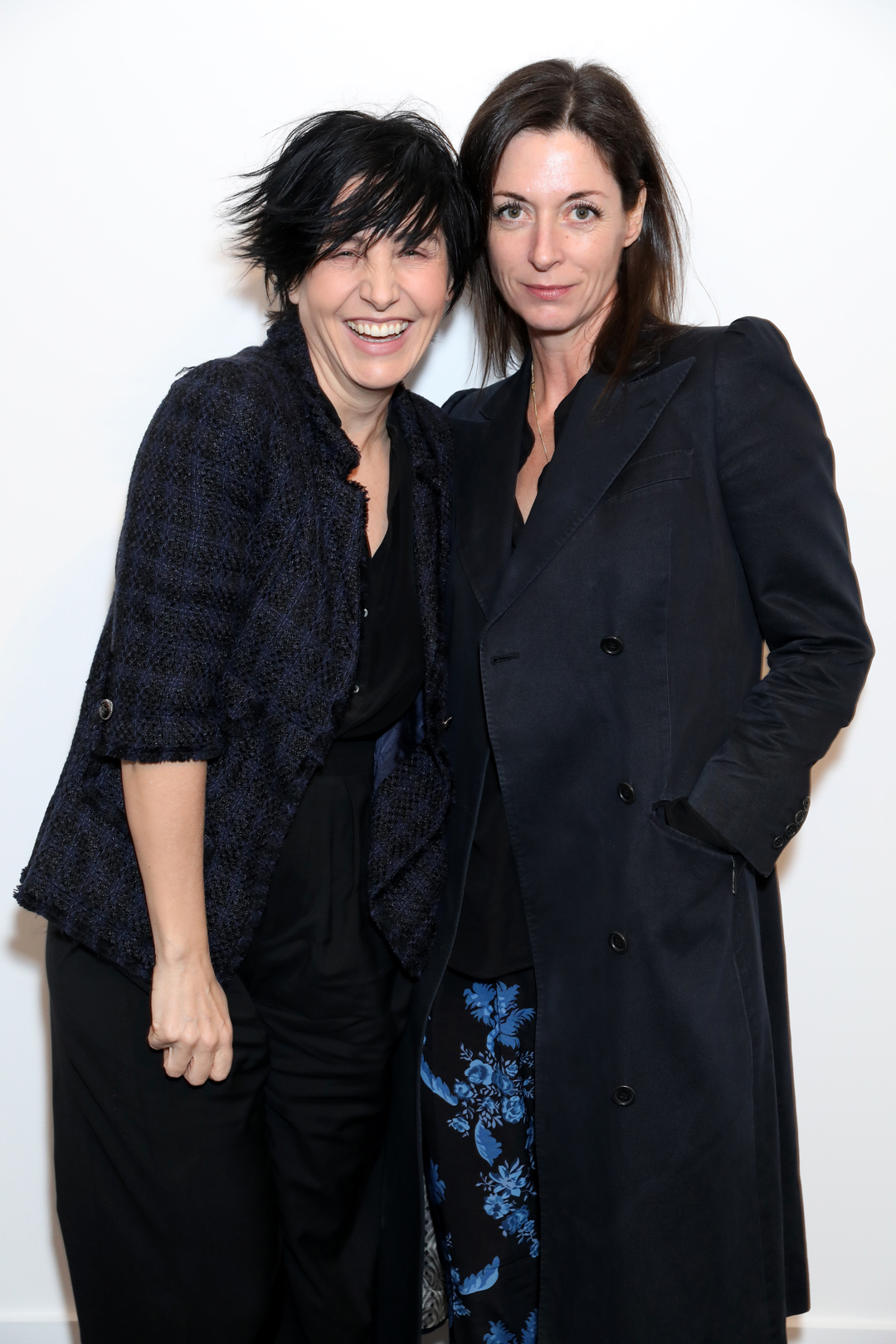 Sharleen Spiteri and Mary McCartney at Sotheby's last night