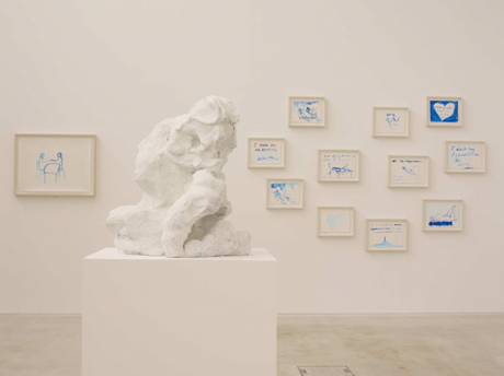 Tracey Emin's She Lay Down Deep Beneath The Sea, at Turner Contemporary, 2012