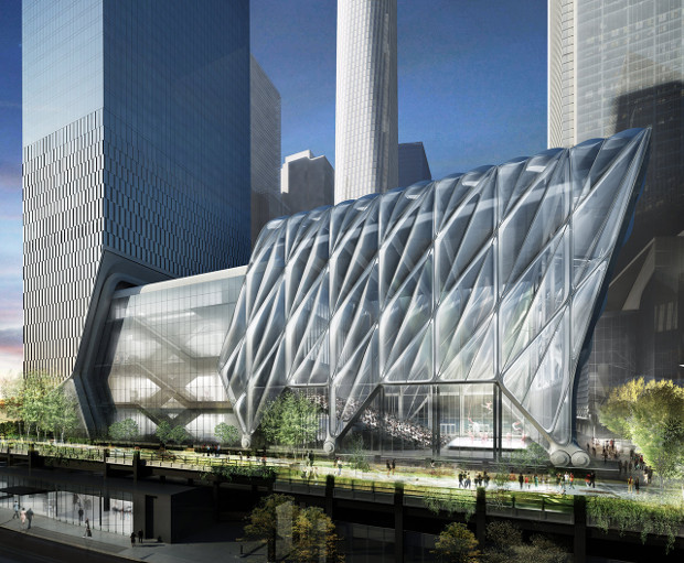 Watch Diller Scofidio + Renfro's Shed come to life