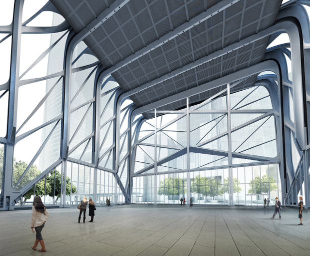 The Shed by Diller Scofidio + Renfro in collaboration with Rockwell Group. Image courtesy of Diller Scofidio + Renfro