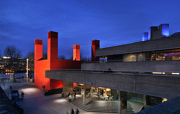 The Shed by Haworth Tompkins, set within The National Theatre's complex