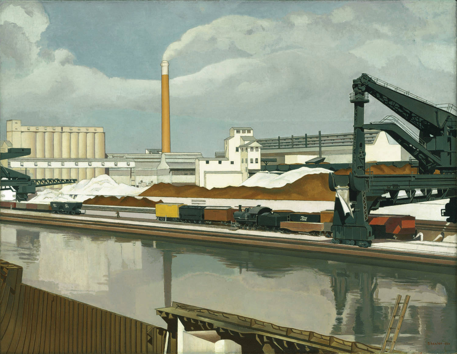 Charles Sheeler, American Landscape, 1930, as reproduced in Art in Time