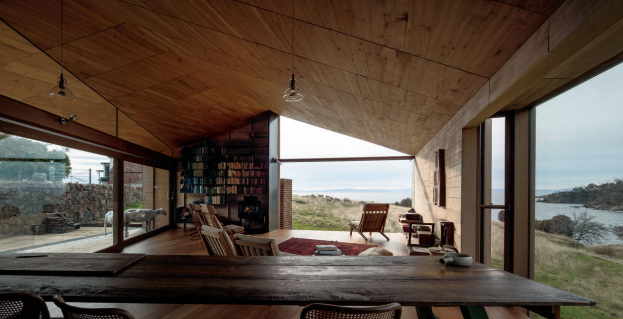 Shearers Quarters (John Wardle Architects), 2011, North Bruny Island, Tasmania, Australia