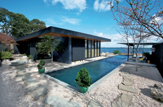 Seaside House (Gray Organschi Architecture), Shelter Island, NY, USA, 2011. Photograph: Courtesy Gray Organschi Architecture