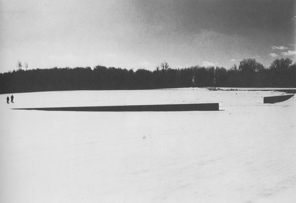 Shift (1970-72) by Richard Serra